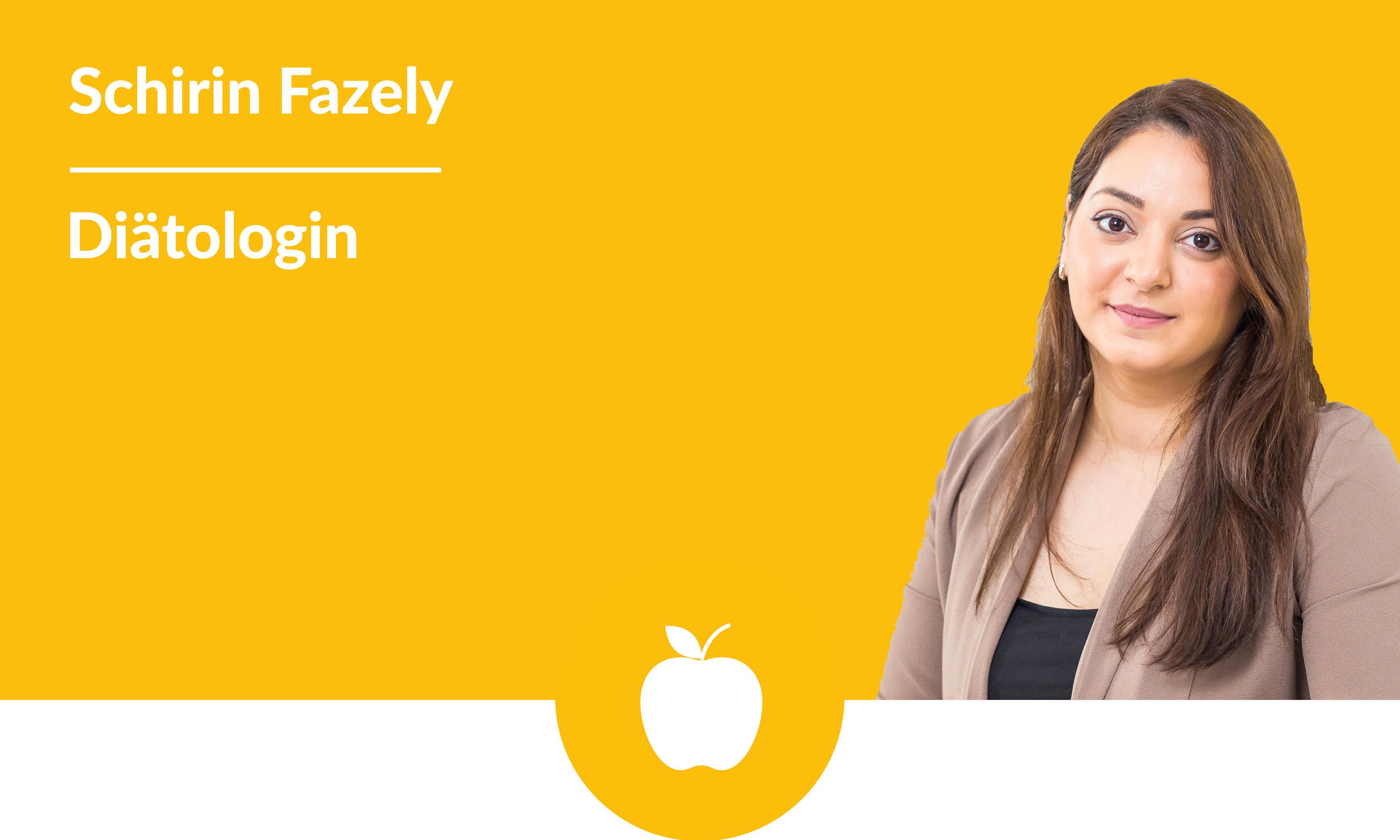 Schirin Fazely, Diätologin
