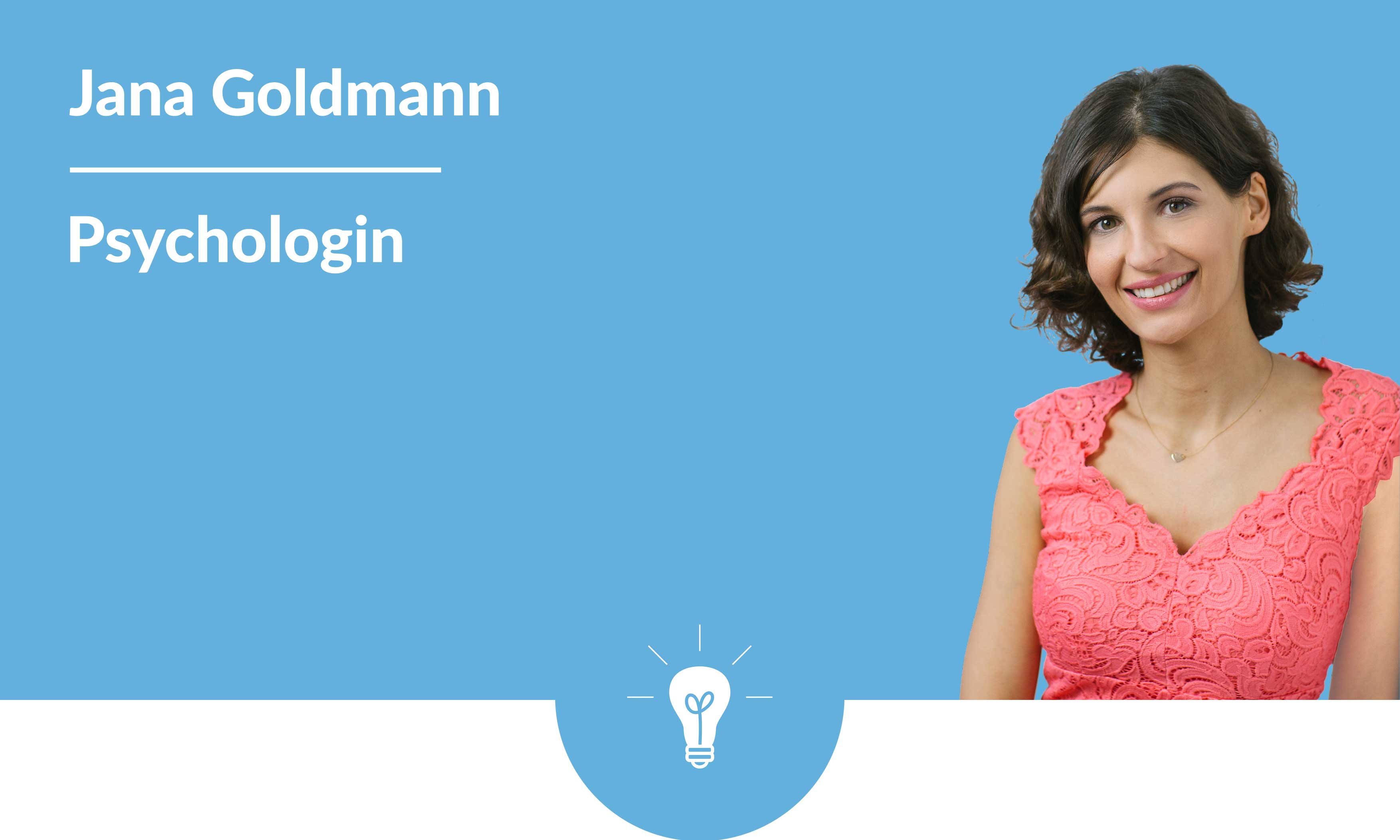 Jana Goldmann, Psychologin